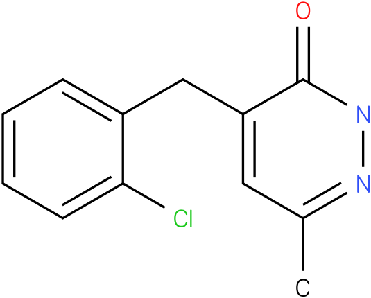 4-(2-Chloro-benzyl)-6-methyl-2H-pyridazin-3-one