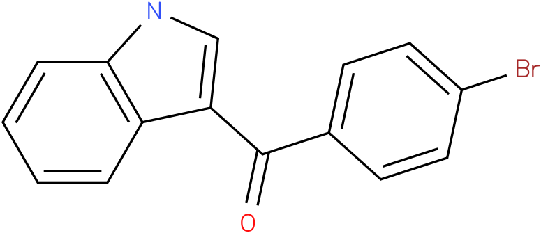 (4-Bromo-phenyl)-(1H-indol-3-yl)-methanone
