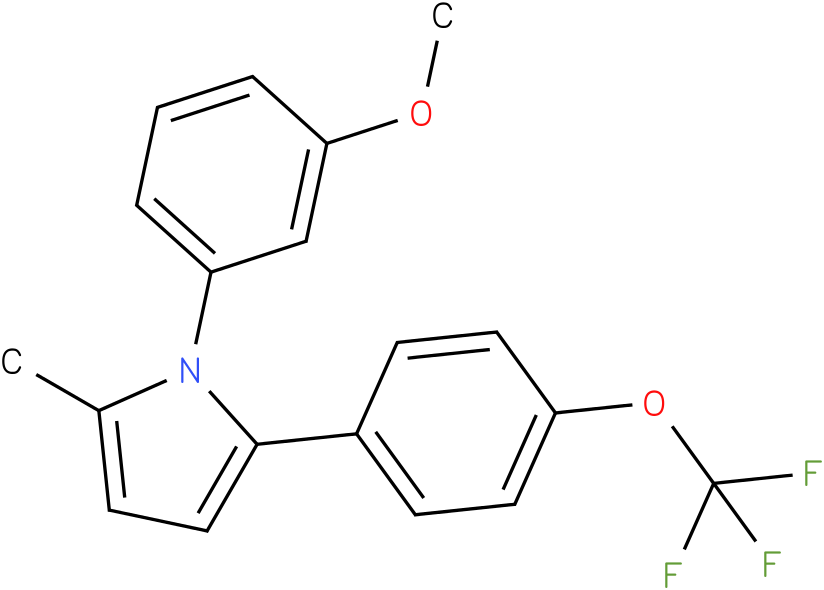 1-(3-Methoxy-phenyl)-2-methyl-5-(4-trifluoromethoxy-phenyl)-1H-pyrrole