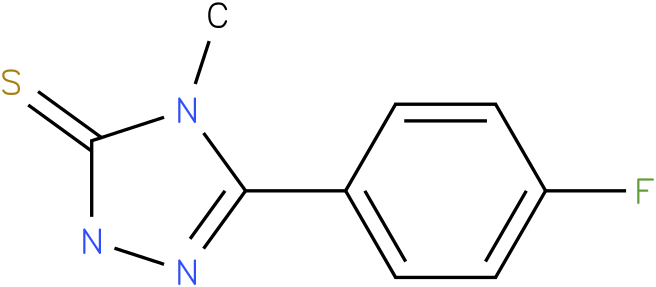 5-(4-Fluoro-phenyl)-4-methyl-2,4-dihydro-[1,2,4]triazole-3-thione