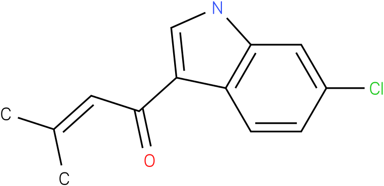 1-(6-Chloro-1H-indol-3-yl)-3-methyl-but-2-en-1-one