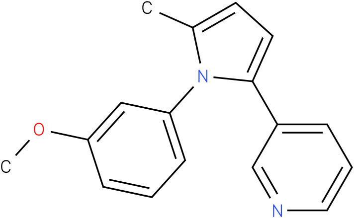 3-[1-(3-Methoxy-phenyl)-5-methyl-1H-pyrrol-2-yl]-pyridine