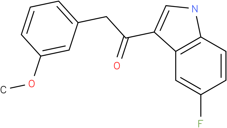 1-(5-Fluoro-1H-indol-3-yl)-2-(3-methoxy-phenyl)-ethanone