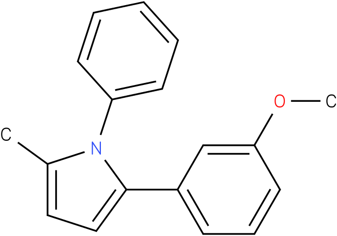 2-(3-Methoxy-phenyl)-5-methyl-1-phenyl-1H-pyrrole