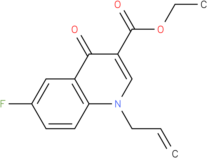 1-Allyl-6-fluoro-4-oxo-1,4-dihydro-quinoline-3-carboxylic acid ethyl ester