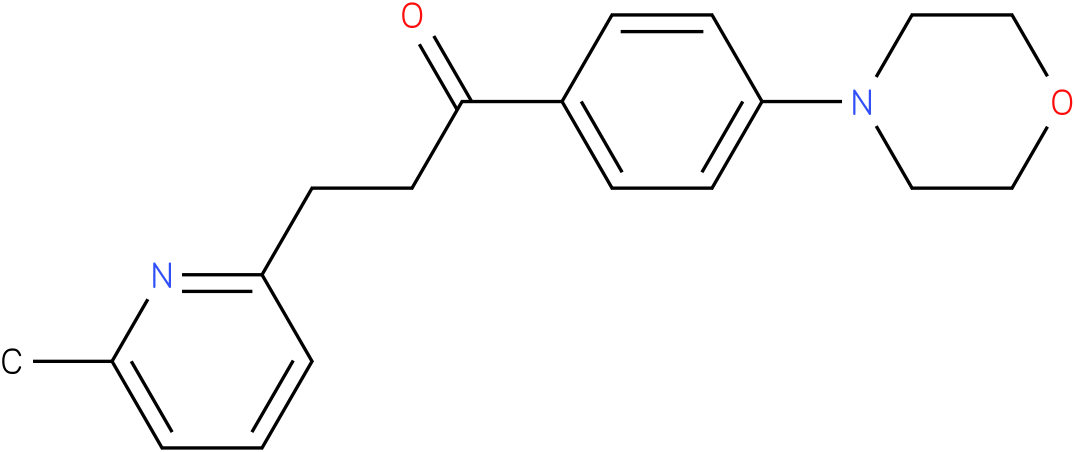 3-(6-Methyl-pyridin-2-yl)-1-(4-morpholin-4-yl-phenyl)-propan-1-one