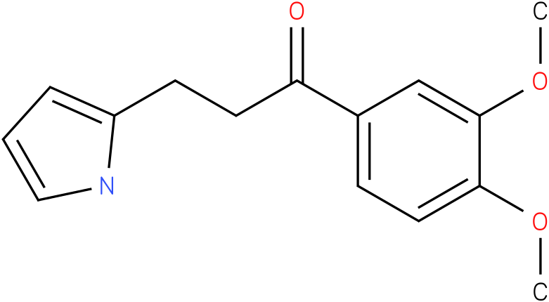 1-(3,4-Dimethoxy-phenyl)-3-(1H-pyrrol-2-yl)-propan-1-one