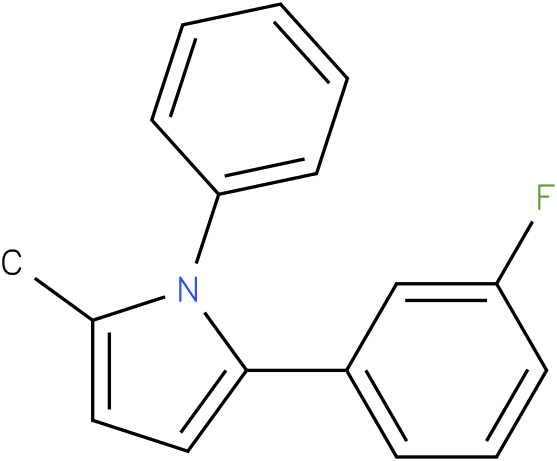 2-(3-Fluoro-phenyl)-5-methyl-1-phenyl-1H-pyrrole
