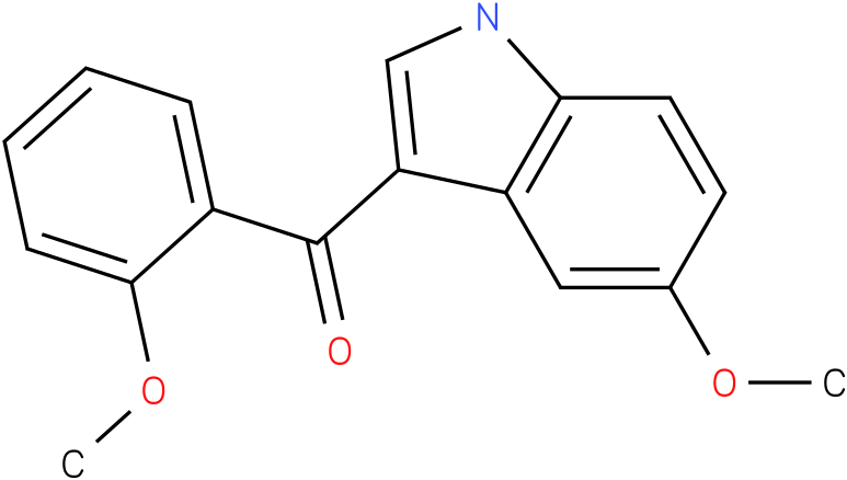 (5-Methoxy-1H-indol-3-yl)-(2-methoxy-phenyl)-methanone
