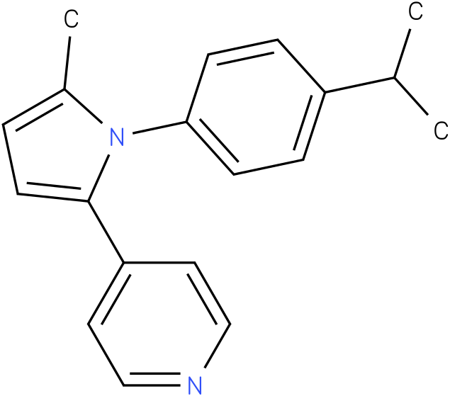 4-[1-(4-Isopropyl-phenyl)-5-methyl-1H-pyrrol-2-yl]-pyridine