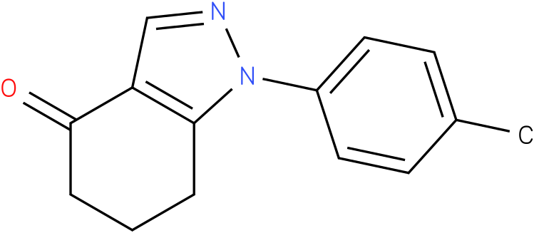 1-p-Tolyl-1,5,6,7-tetrahydro-indazol-4-one