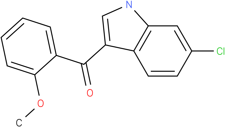 (6-Chloro-1H-indol-3-yl)-(2-methoxy-phenyl)-methanone