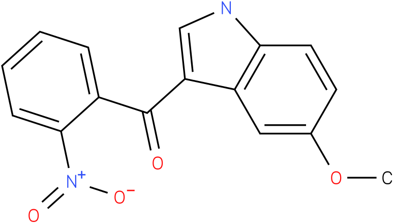 (5-Methoxy-1H-indol-3-yl)-(2-nitro-phenyl)-methanone