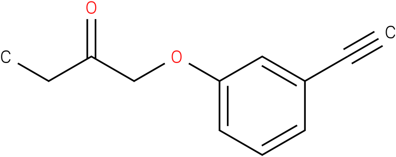 1-(3-Ethynyl-phenoxy)-butan-2-one
