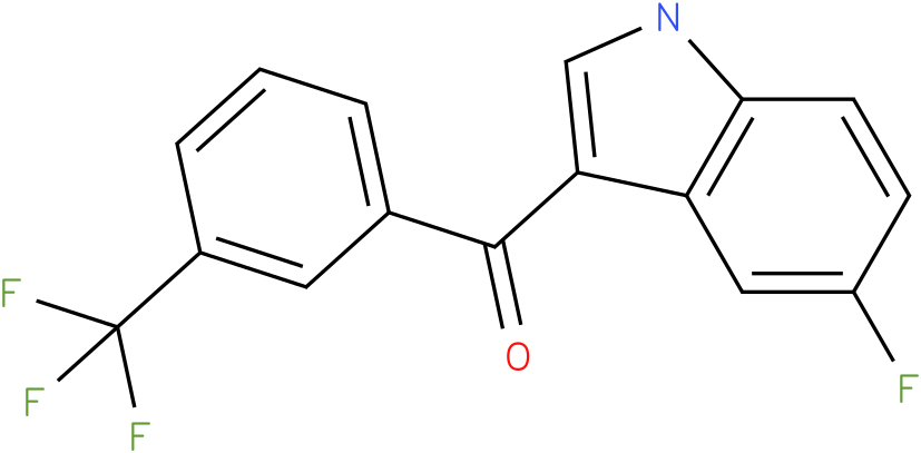 (5-Fluoro-1H-indol-3-yl)-(3-trifluoromethyl-phenyl)-methanone