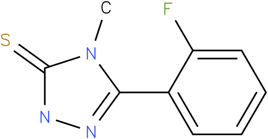 5-(2-Fluoro-phenyl)-4-methyl-2,4-dihydro-[1,2,4]triazole-3-thione