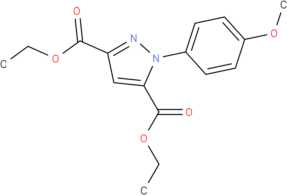 1-(4-Methoxy-phenyl)-1H-pyrazole-3,5-dicarboxylic acid diethyl ester