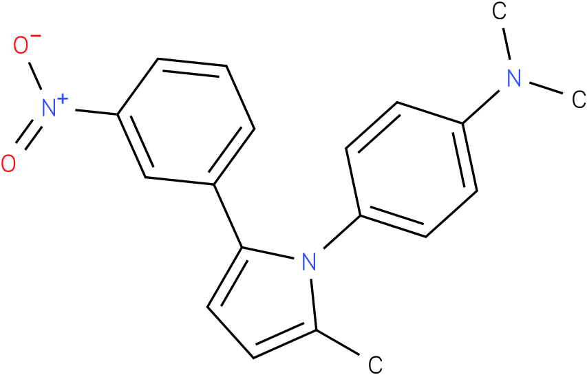 Dimethyl-{4-[2-methyl-5-(3-nitro-phenyl)-pyrrol-1-yl]-phenyl}-amine