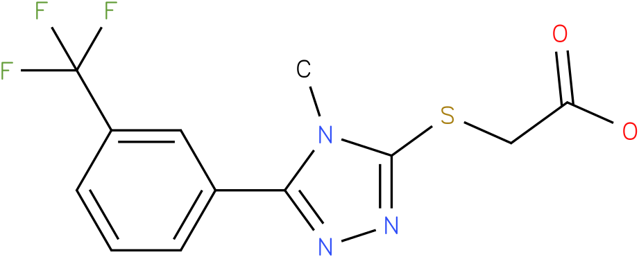 [4-Methyl-5-(3-trifluoromethyl-phenyl)-4H-[1,2,4]triazol-3-ylsulfanyl]-acetic acid