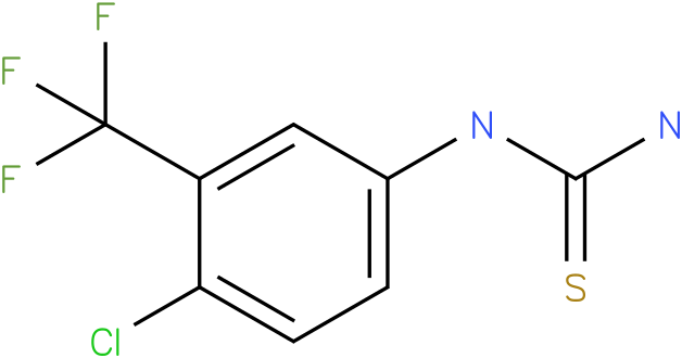 (4-Chloro-3-trifluoromethyl-phenyl)-thiourea