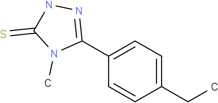 5-(4-Ethyl-phenyl)-4-methyl-2,4-dihydro-[1,2,4]triazole-3-thione