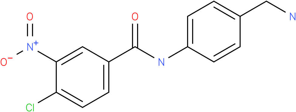 N-(4-Aminomethyl-phenyl)-4-chloro-3-nitro-benzamide