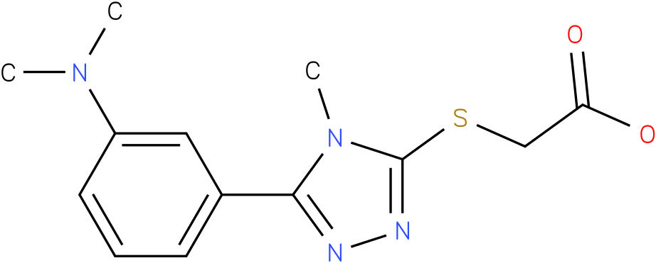 [5-(3-Dimethylamino-phenyl)-4-methyl-4H-[1,2,4]triazol-3-ylsulfanyl]-acetic acid