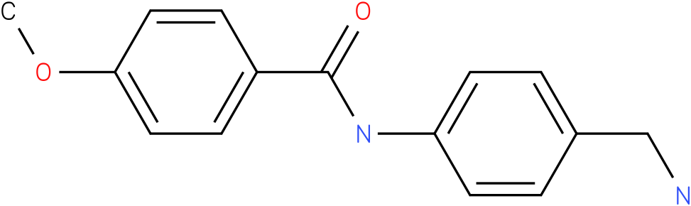 N-(4-Aminomethyl-phenyl)-4-methoxy-benzamide