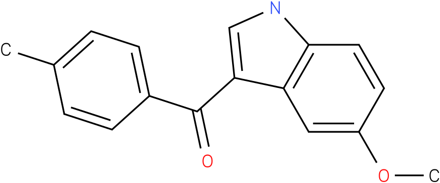 (5-Methoxy-1H-indol-3-yl)-p-tolyl-methanone