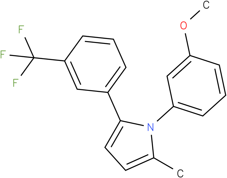 1-(3-Methoxy-phenyl)-2-methyl-5-(3-trifluoromethyl-phenyl)-1H-pyrrole