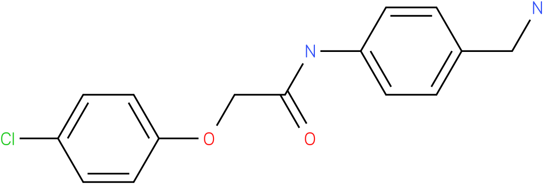 N-(4-Aminomethyl-phenyl)-2-(4-chloro-phenoxy)-acetamide