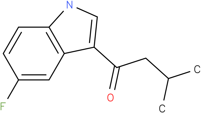 1-(5-Fluoro-1H-indol-3-yl)-3-methyl-butan-1-one