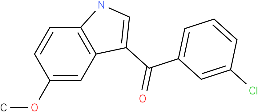 (3-Chloro-phenyl)-(5-methoxy-1H-indol-3-yl)-methanone