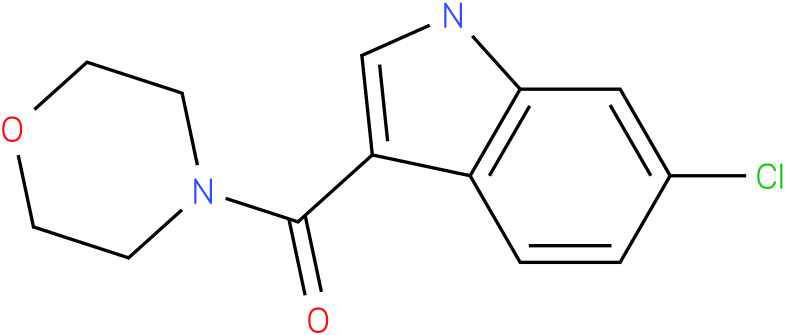 (6-Chloro-1H-indol-3-yl)-morpholin-4-yl-methanone