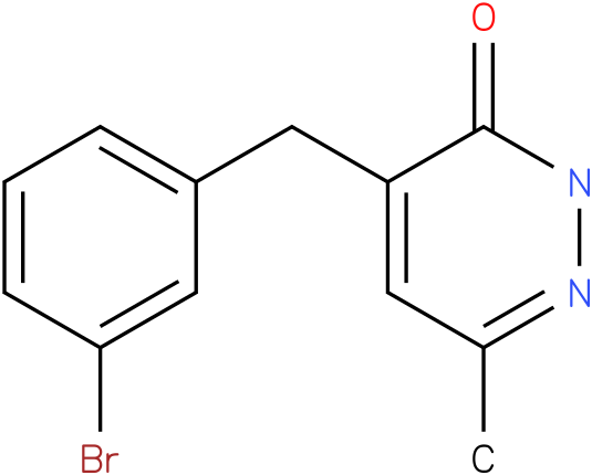 4-(3-Bromo-benzyl)-6-methyl-2H-pyridazin-3-one