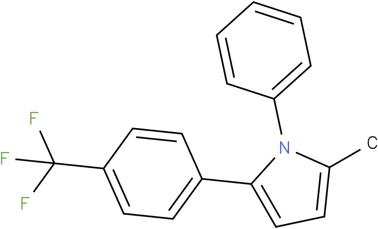 2-Methyl-1-phenyl-5-(4-trifluoromethyl-phenyl)-1H-pyrrole