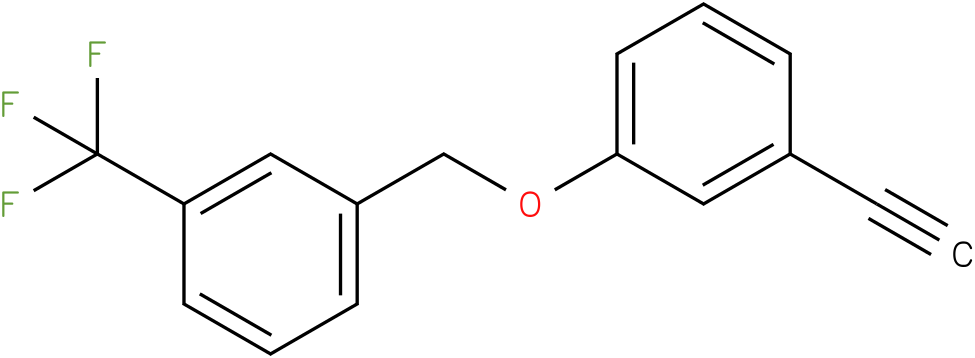 1-(3-Ethynyl-phenoxymethyl)-3-trifluoromethyl-benzene