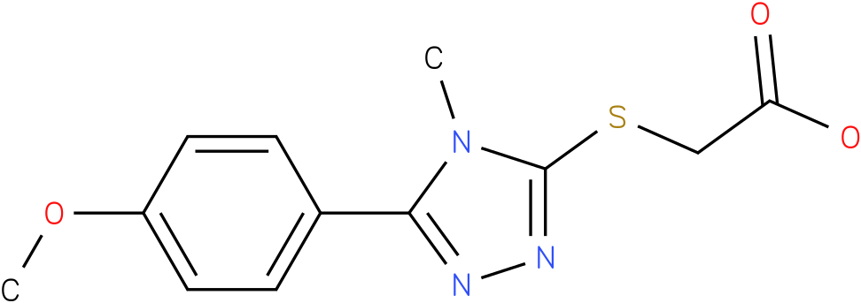 [5-(4-Methoxy-phenyl)-4-methyl-4H-[1,2,4]triazol-3-ylsulfanyl]-acetic acid