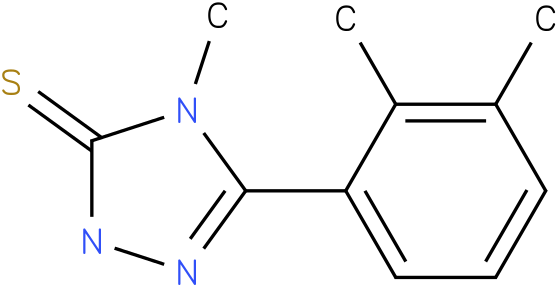 5-(2,3-Dimethyl-phenyl)-4-methyl-2,4-dihydro-[1,2,4]triazole-3-thione