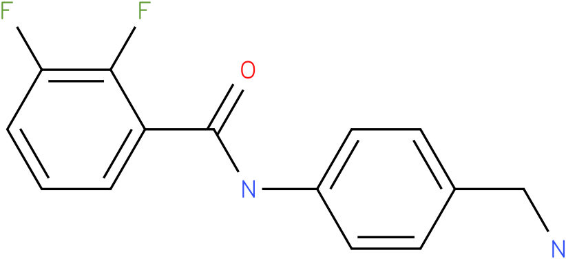N-(4-Aminomethyl-phenyl)-2,3-difluoro-benzamide