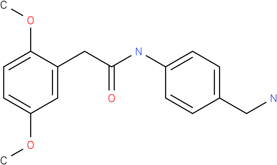 N-(4-Aminomethyl-phenyl)-2-(2,5-dimethoxy-phenyl)-acetamide