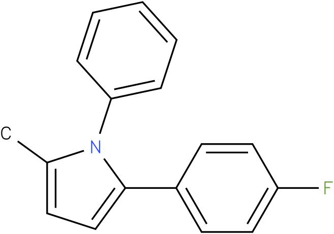 2-(4-Fluoro-phenyl)-5-methyl-1-phenyl-1H-pyrrole