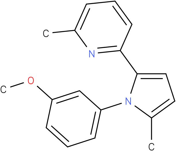 2-[1-(3-Methoxy-phenyl)-5-methyl-1H-pyrrol-2-yl]-6-methyl-pyridine