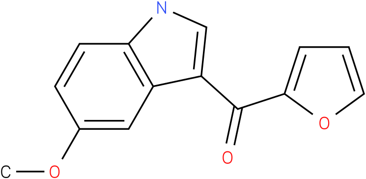 Furan-2-yl-(5-methoxy-1H-indol-3-yl)-methanone