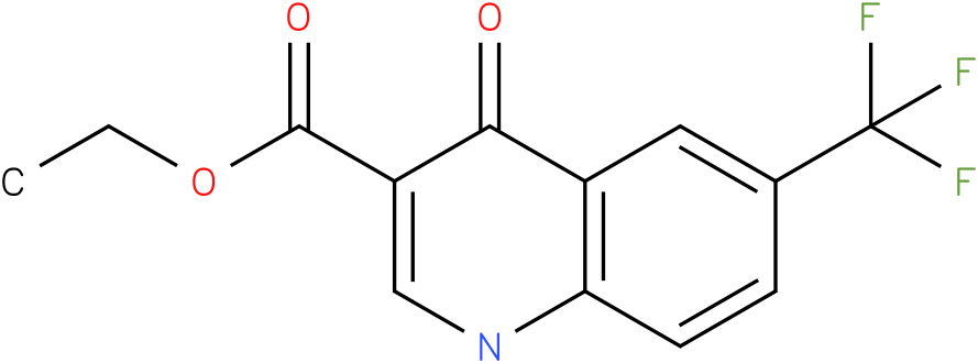 4-Oxo-6-trifluoromethyl-1,4-dihydro-quinoline-3-carboxylic acid ethyl ester