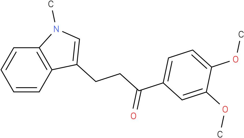 1-(3,4-Dimethoxy-phenyl)-3-(1-methyl-1H-indol-3-yl)-propan-1-one