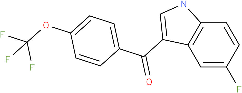 (5-Fluoro-1H-indol-3-yl)-(4-trifluoromethoxy-phenyl)-methanone