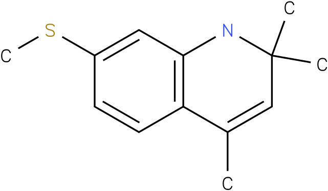 2,2,4-Trimethyl-7-methylsulfanyl-1,2-dihydro-quinoline
