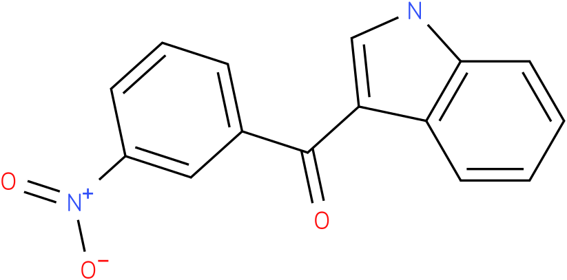 (1H-Indol-3-yl)-(3-nitro-phenyl)-methanone