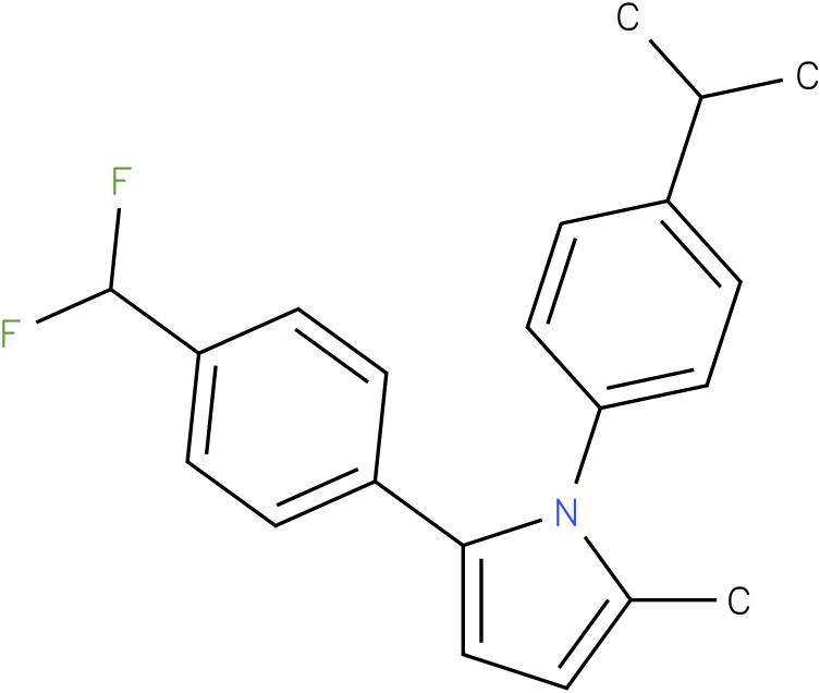 1-(4-Isopropyl-phenyl)-2-methyl-5-(4-trifluoromethyl-phenyl)-1H-pyrrole